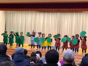 長崎県五島市の福江幼稚園の発表会でした。